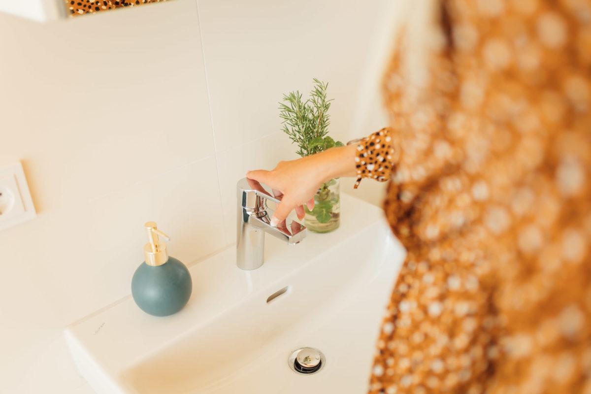 Badezimmer im Schorenhaus