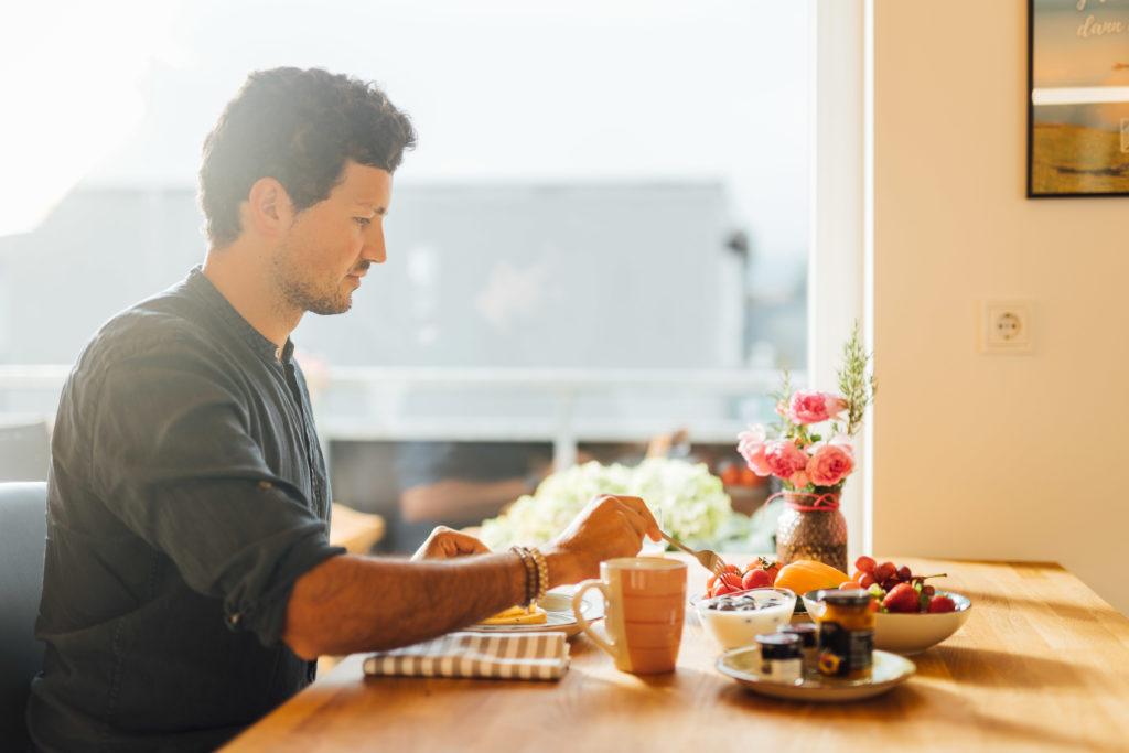 Frühstück in Dornbirn - Im Schorenhaus wohnen und essen